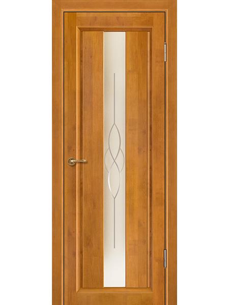Дверь Версаль, медовый орех, остекленная